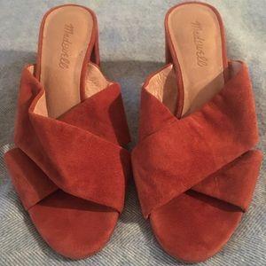 Madewell Suede Heels: Size 7.5